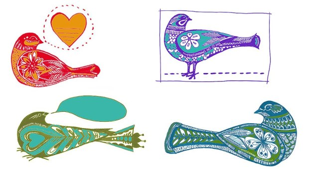 bird designs by manysparrows art (1)