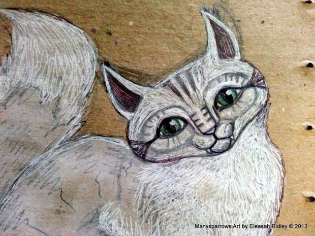 cats by manysparrows art (1)