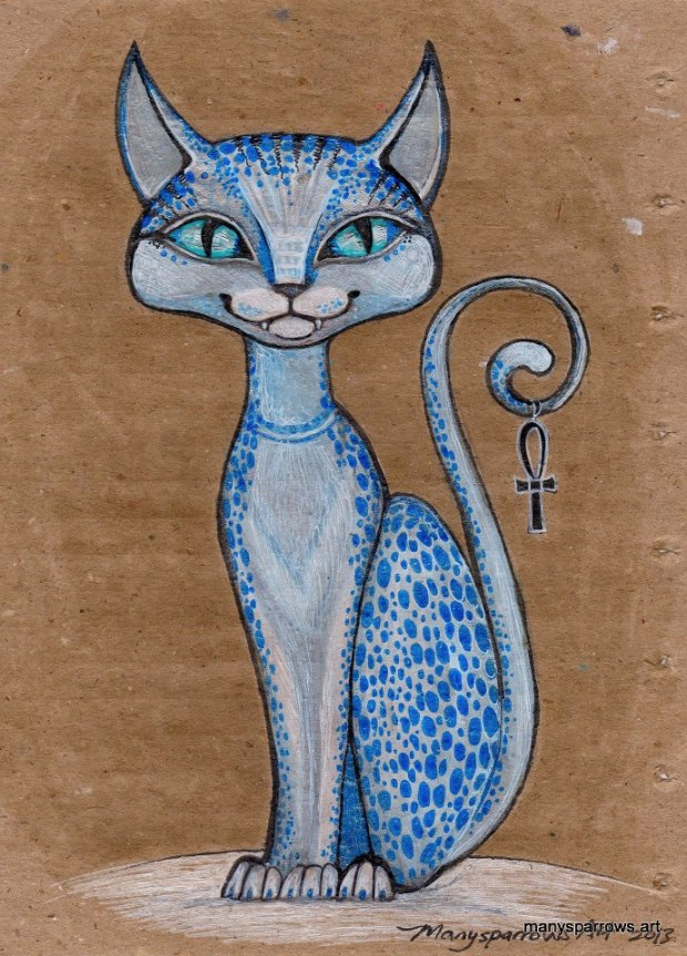 cats by manysparrows art (4)