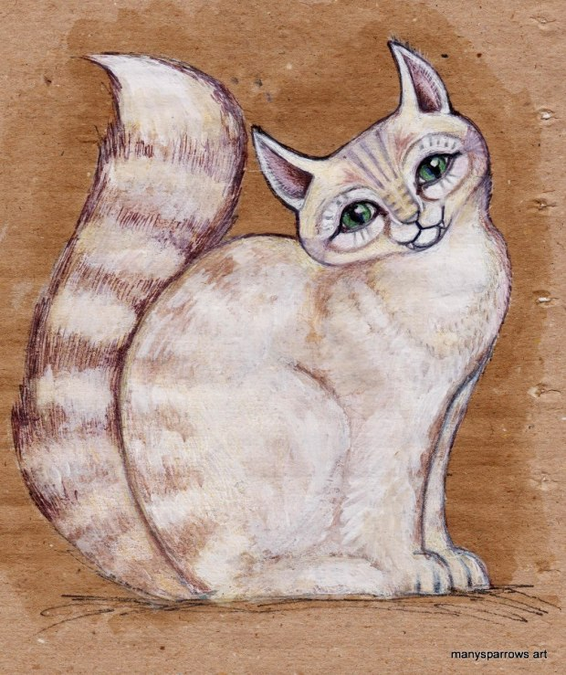cats by manysparrows art (7)