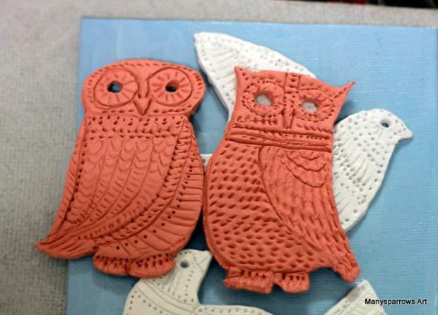 manysparrows art owls (9)