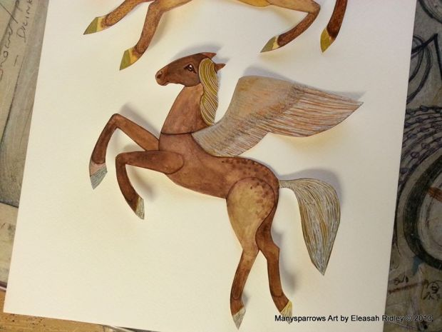 watercolour flying horses (1)